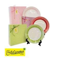 Набор обеденных тарелок Maestro 26 см., 6 шт. (MR-10009-04)