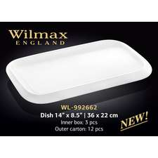 Блюдо прямоугольное с полями Wilmax (992662)