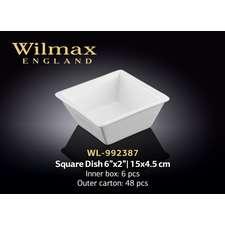 Емкость для закусок Wilmax 15 х 4,5 см. (992387)