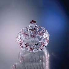 Сахарница Walther Glass Carmen Satin-Rose 14 см. (w1134)