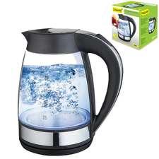 Чайник стеклянный с подсветкой Maestro 1,7 л. (MR-062)