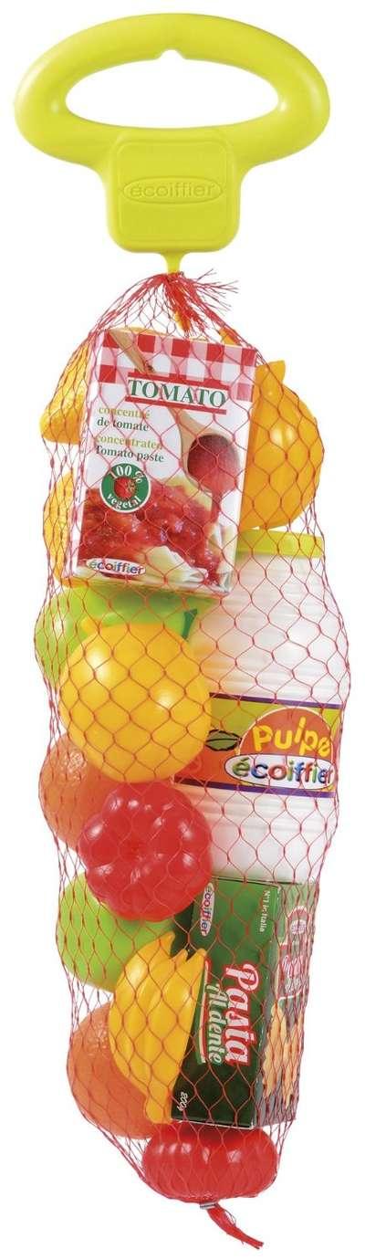 Игровой набор в сетке Овощи и фрукты Ecoiffier (951) 74513
