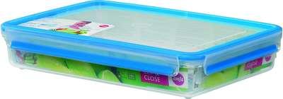 Прямоугольный пищевой контейнер Clip&Close 3D Emsa 2600 мл. (EM508545)