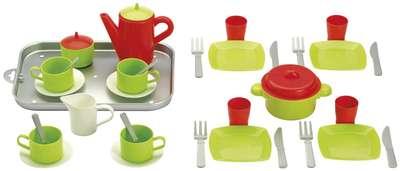 Игровой набор с посудой и подносом Chef-Cook Ecoiffier (972) 74509