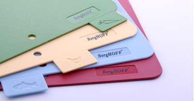 Набор пластиковых досок в деревянном футляре BergHOFF 37х29 см. (1101736) 60700