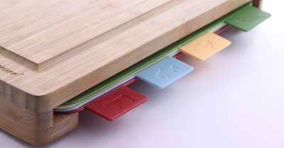 Набор пластиковых досок в деревянном футляре BergHOFF 37х29 см. (1101736) 60696