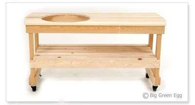 Длинный стол для гриля Big Green Egg XL (YXL4)