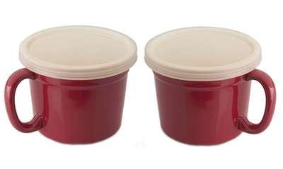 Набор из 2 чашек с пластиковой крышкой Berghoff (1695075)