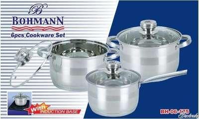 Набор посуды Bohmann 6 пр. (06-175-BH)