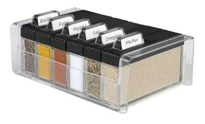 Прозрачный органайзер для специй Spice Box Emsa на 6 отделений (EM508456)