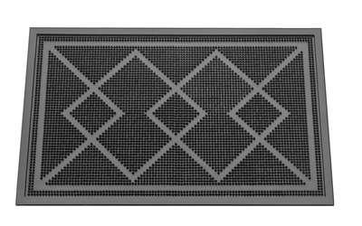 Коврик резиновый квадраты с бортиком (РТИ К-5)