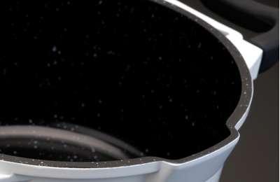 Кастрюля высокая Virgo white Berghoff 28 см. (2304532) 56136