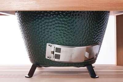 Металлическая подставка для гриля Big Green Mini (SHOE)