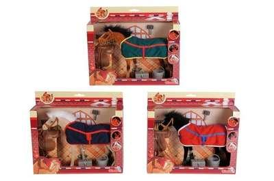 Игрушка Лошадка с попоной и аксессуарами Simba (4324964)