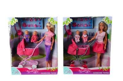 Кукла Штеффи с коляской Steffi & Evi Love (5738060) 74822