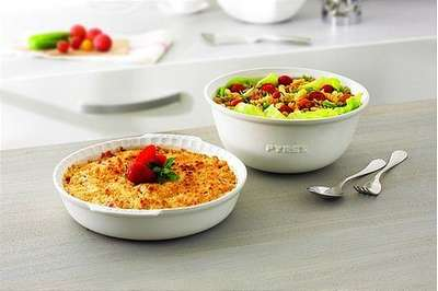 Блюдо для пирога Pyrex Impressions 26 см. (IC1PD26) 59323