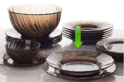 Тарелка суповая Duralex  21,5 см. (234125M) 59412