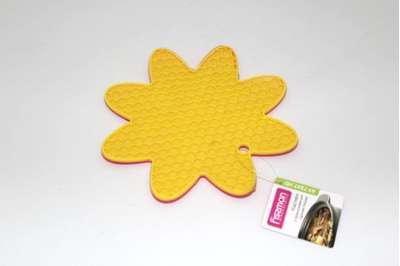 Подложка для горячей посуды с присосками в форме цветка Fissman 19 см. (AY-7247.HD)