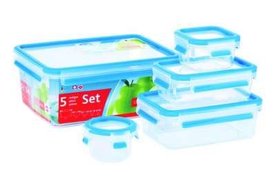 Набор из 5-ти контейнеров Clip&Close 3D Emsa (EM508568) 68286