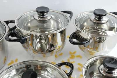 Набор посуды Vision Premium BergHOFF 12 пр. (1112466) 61627