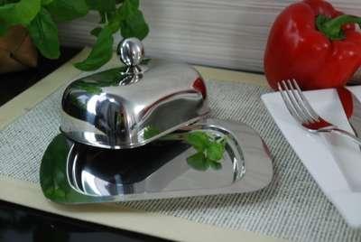 Масленка с металическая с крышкой Cook&co (1106267) 67346