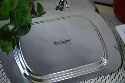Масленка с металическая с крышкой Cook&co (1106267) 67347