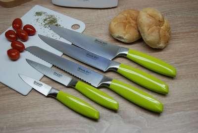 Набор ножев в белой колоде Cook&Co 6 пр. (2800038) 69277