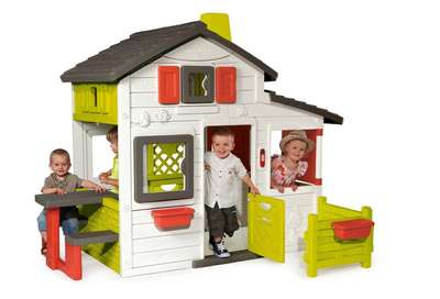 Дом для друзей c чердаком и дверным звонком Smoby (310209)