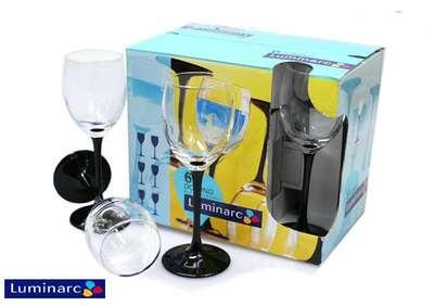 Набор бокалов для вина ОСЗ Domino Luminarc 250 мл. (H8169/1) 60201
