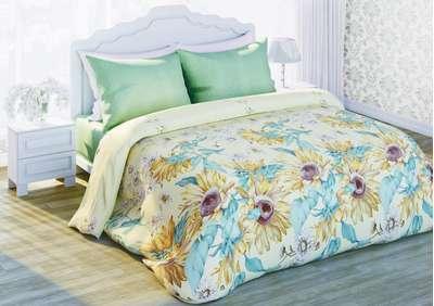 Комплект постельного белья Подсолнухи Солодкий сон (310982)