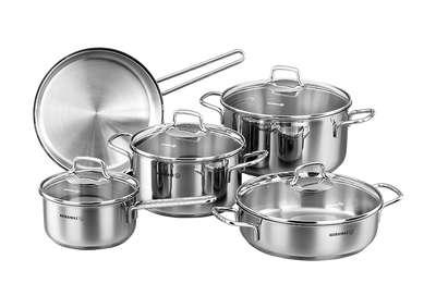 Набор посуды Perla Korkmaz 9 пр. (A1609)