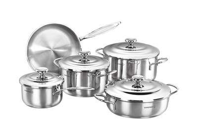Набор посуды Droppa Korkmaz 9 пр. (A1070)