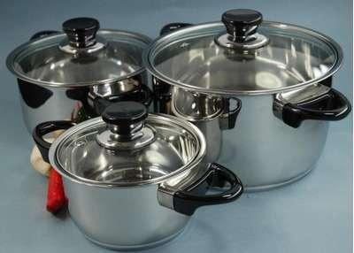 Набор посуды Vision Premium BergHOFF 6 пр. (1112459) 61652