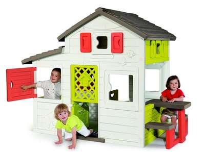 Дом для друзей c чердаком и дверным звонком Smoby (310209) 74238