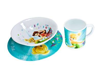 Набор детский Luminarc Disney Fairies Butterfly 3 предмета (H5839)
