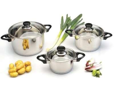 Набор посуды Vision Premium BergHOFF 6 пр. (1112459)