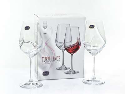 Бокалы для вина Bohemia Turbulence 350 мл. (40774-350) 63933