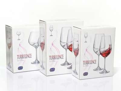 Бокалы для вина Bohemia Turbulence 350 мл. (40774-350) 63934