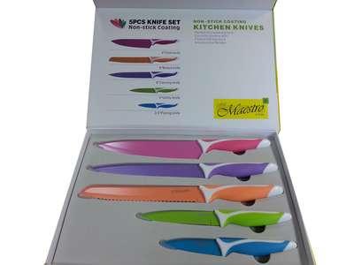 Набор ножей non-stick Maestro 6 пр. (1436-MR) 65230