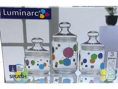 Набор банок Luminarc Aime Zoom White (H9974) 66731