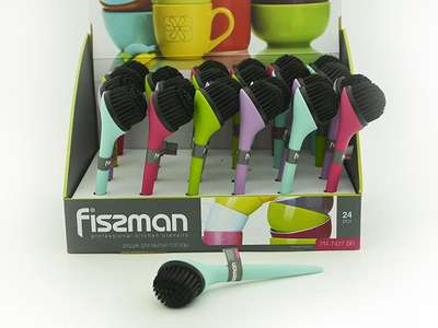 Щетка для мытья посуды Fissman 18x5 см. (PR-7427.BR)