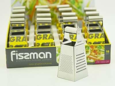Терка четырехсторонняя Fissman Mini 15 см. (PR-7200.GR)