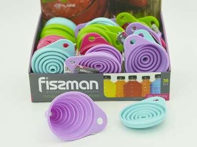 Лейка силиконовая складная Fissman 9 см. (PR-7420.FN)