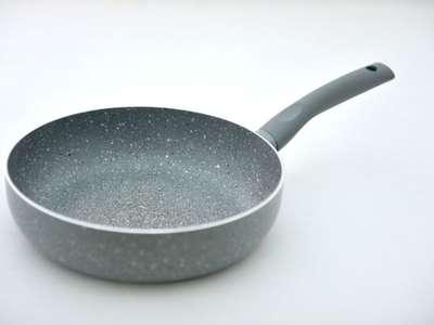 Глубокая сковорода с индукционным дном Vulcano Fissman 24 см. (AL-4698.24)