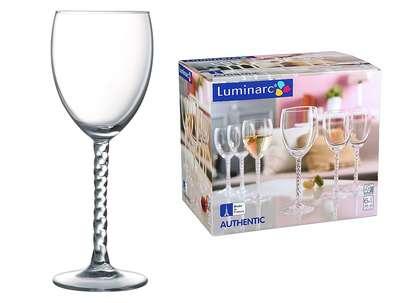 Набор бокалов Luminarc Authentic Transp 250 мл. (h5649)