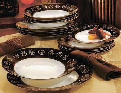 Тарелка суповая Luminarc Sirocco Brown 220 мм. (H4886) 58289