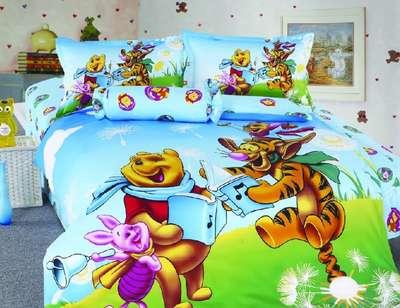 Детское постельное белье Винни Пух (KI-047)