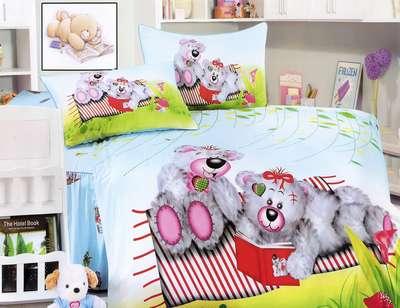 Детское постельное белье Медведи (KI-061)