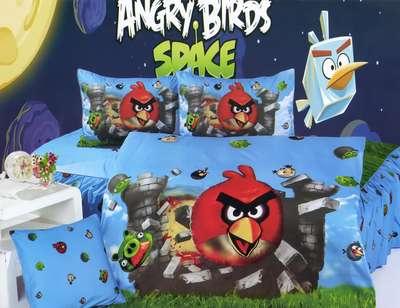 Детское постельное белье Angry Birds (KI-063)