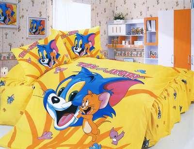 Детское постельное белье Том и джери(KI-074)